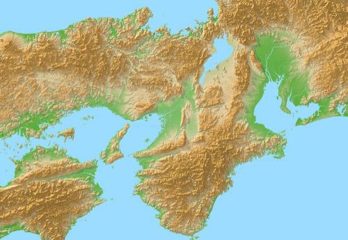 関西と近畿